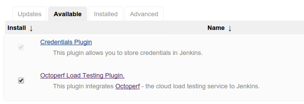 CI With Jenkins - Documentation - OctoPerf